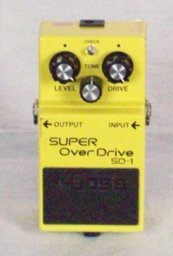 boss effects pedal, effects pedals, overdrive pedals