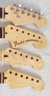 electric guitar necks, guitar neck, stratocaster necks, replacement guitar necks