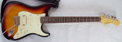 Fender American Deluxe Stratocaster, fat strat with S1