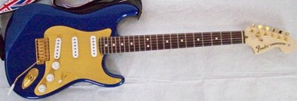 Blue guitar whole