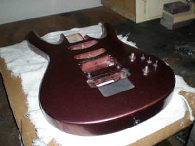 Original Washburn KC-70 Body