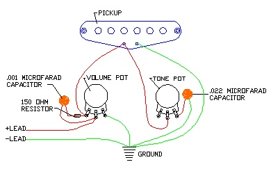 this guitar volume circuit will help stop treble bleed rh electric guitar info com Guitar Wiring For Dummies Guitar Wiring Kits